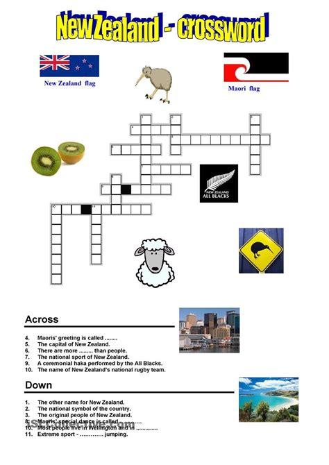 new zealand crossword preschool new