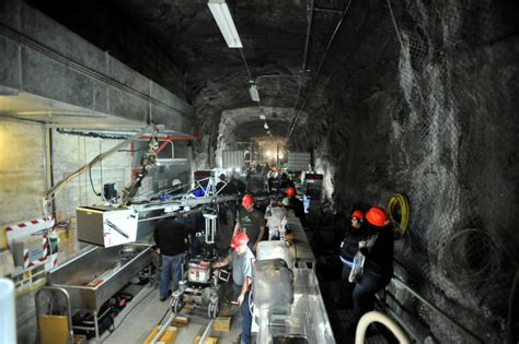 hollywood stars bunker down in world s deepest movie set