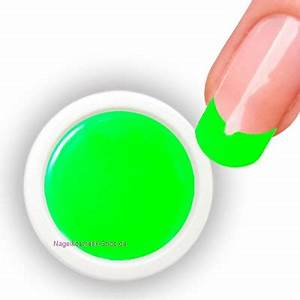 Neon UV Farbgel Grün Neon UV Farbgel