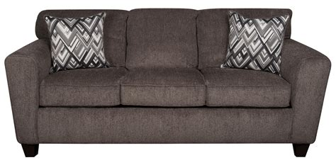 Contemporary Sofa Pillows by Wilson Contemporary Sofa With Decorative Accent Pillows