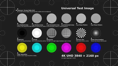 4k Uhd Test Pattern H.264 Mp4