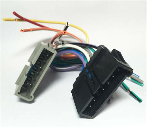 Jensen Car Stereo Radio Wiring Harness For Aftermarket