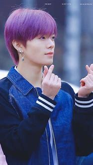 Pin by eden on NCT   Nct yuta, Purple hair, Nct 127