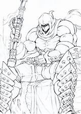 Executioner Sketch Doctorzexxck Drawings Anime Deviantart sketch template