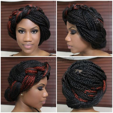 braiding styles four simple styles for box braids part