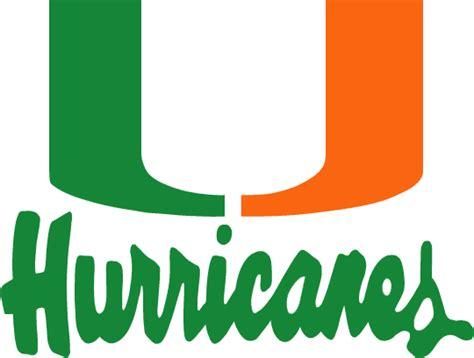 miami hurricanes logo  miami hurricanes pinterest