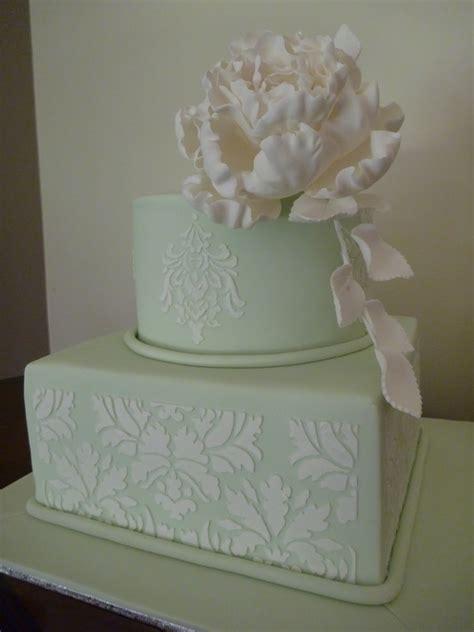 lovecake  tier wedding cake  stencil  sugar
