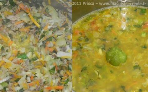 p 226 t 233 en pot martiniquais soupe cr 233 ole 192 voir