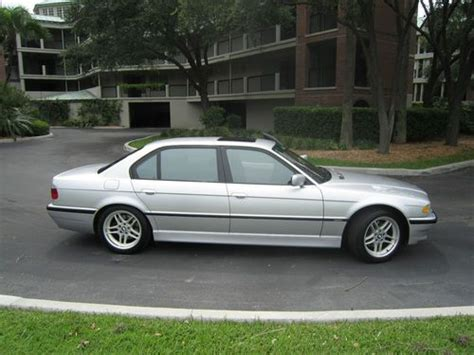 2001 Bmw 750il For Sale by Buy Used 2001 Bmw 750il V12 Silver Mint Condition In
