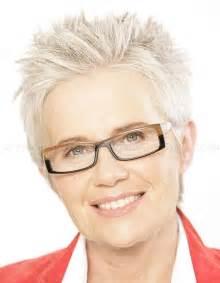 Short Spiky Hairstyles Women Over 50
