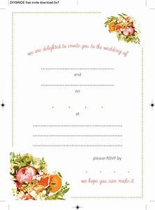 Wedding invitation templates that are cute and easy to for Inviation templates
