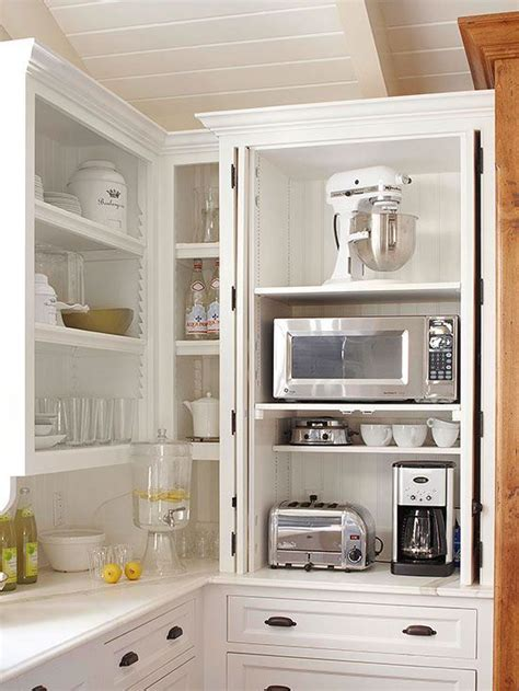 storage packed cabinets  drawers kitchen clever