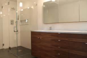 Ikea Cabinet Bathroom walnut ikea bathroom contemporary bathroom other