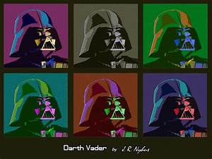 Darth Vader Pop Art by JohnNewhouse on DeviantArt