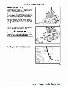Repair Manuals New Holland Skid Steer Loaders