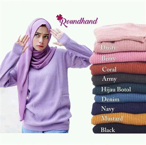 Wanita indonesia dikenal dengan wajahnya yang cantik dan oriental. Jual Sweater Wanita Keren - Round Hand Model - Switer Cewek Distro - Baju Rajut Roundhand Cewe ...