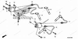 Honda Motorcycle 2007 Oem Parts Diagram For Ignition Coil