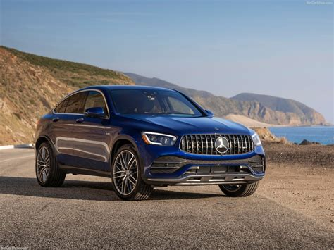 We review the trendy new 2020 mercedes glc 43 amg, the suv coupe priced at $75,000. Mercedes-Benz GLC43 AMG 4Matic Coupe (2020) - picture 6 of 94