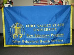 Fort Valley State University | Atlas Flags custom flags ...