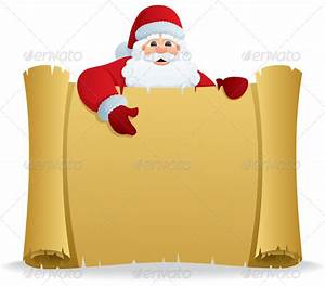 Letter for santa template free maydeskcom for Scroll letter from santa