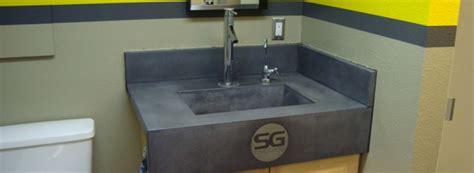 Lucky Pie Bathroom Concrete Sink Concrete Pete Commercial