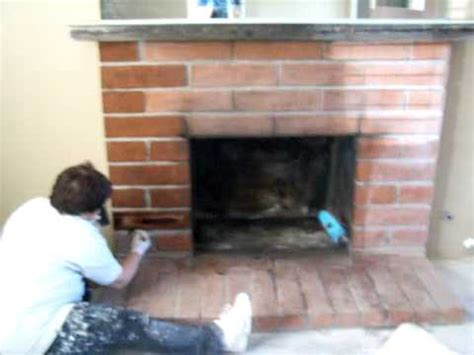 how to update a brick fireplace updating fireplace on a budget