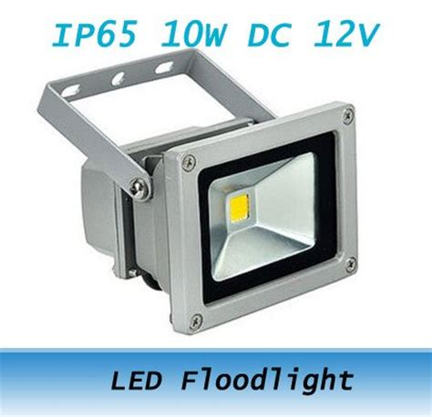 12v 10w warm white led flood light garden 12 volt wall