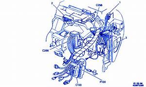 Chevrolet 1500 Pick Up 1995 In The Dash Electrical Circuit Wiring Diagram  U00bb Carfusebox