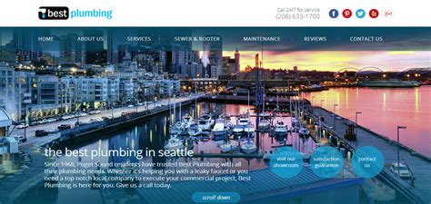 best plumbing seattle 5 plumbing websites that put a shine on the grime