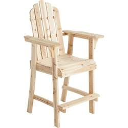 stonegate designs wooden adirondack chair 30in l x