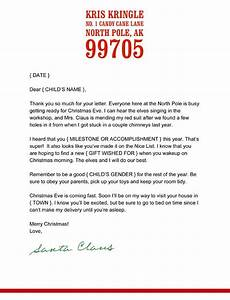best 25 letter from santa template ideas on pinterest With free santa letters from north pole uk