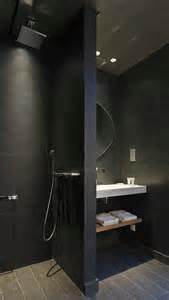 designer bathrooms ideas donkere badkamers