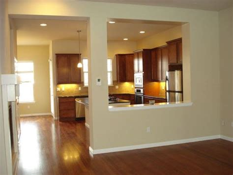 half wall ideas half wall between dining and living room for the home pinterest