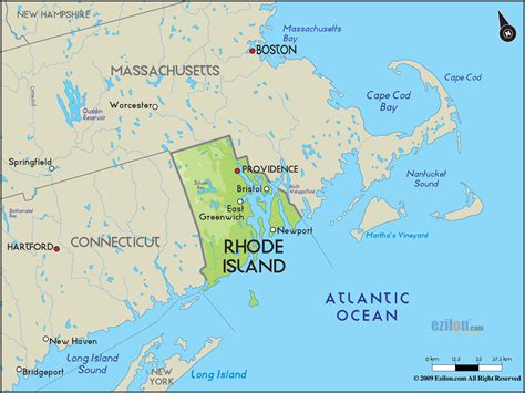 rhode island map travelsfinderscom