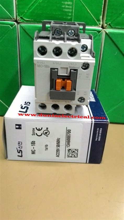 contactor and relay distributor ls brand in indonesia