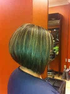 A Line Short Graduated Bob Haircut Pictures