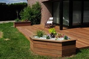 Realisation Terrasse En Bois Travaux Jardin D39exterieur