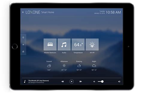 Home Design Software For Android Mobile by Loxone S Home Automation App For Iphone And Android
