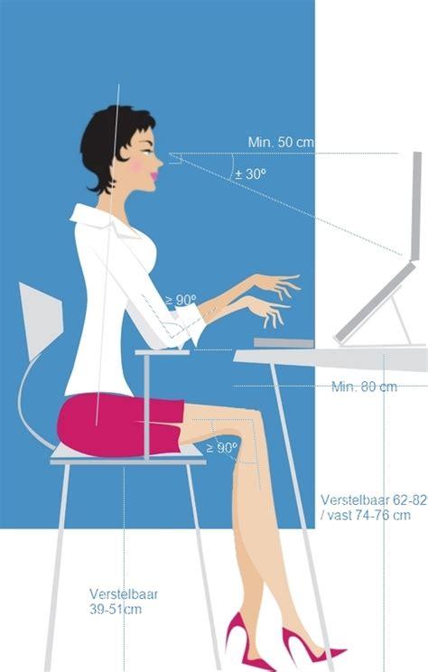 ergonomie bureau workplace set up arrangement sieso