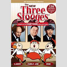 'the New Three Stooges' Cartoon Collection To Be Released In October  Hollywood Reporter