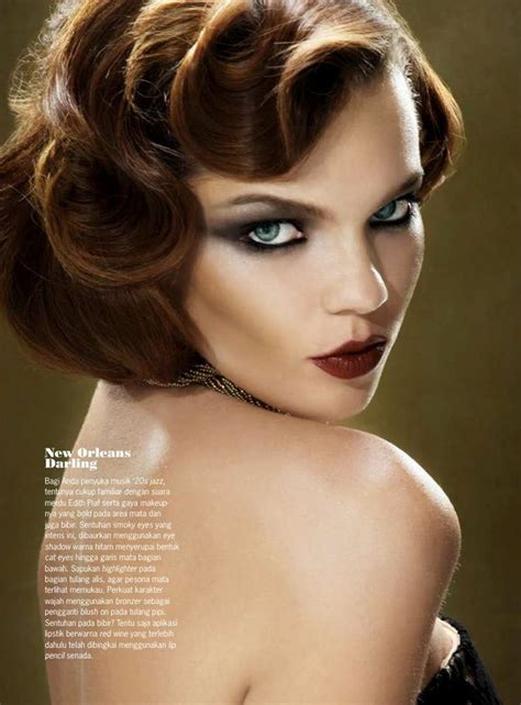 1920 S Pin Up Hairstyles by School Pin Curl Finger Waves Make Up Beautiful