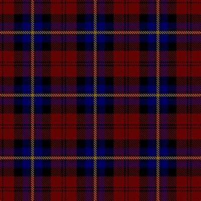 The 'Aitken' Clan Tartan Pattern WallpaperWide Screen