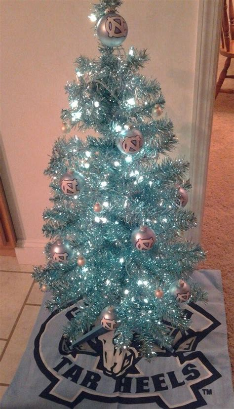 unc tarheels christmas tree unc tarheels tar