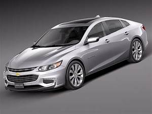 Chevrolet Malibu 2016 3d Model 2017 2018 Best Cars Reviews