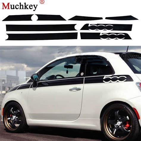Fiat Car Accessories by For Fiat 500 Creative Car Whole Sticker Decoration