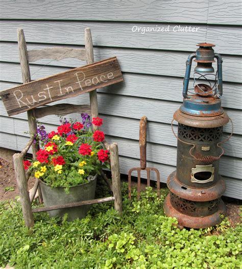 Organized Clutter Garden Junk Doesn Last Forever