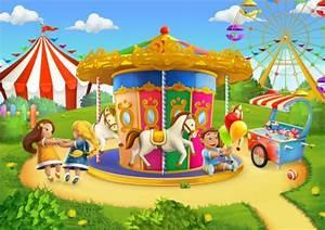 Children playground vector background design 02 - Vector ...