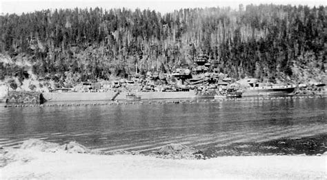 Tirpitz - Gallery - Theme - The Tirpitz in Fættenfjord, Norway