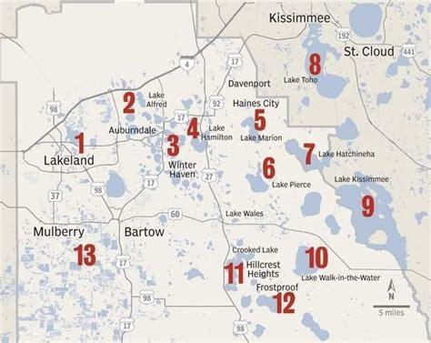 map fishing lakeland fl sports