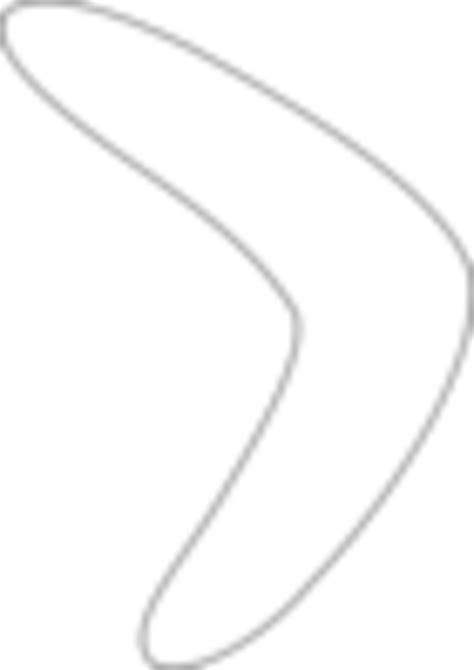 simple boomerang pattern  images  clkercom